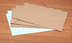 Preço de envelope