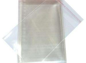 envelope plástico com lacre