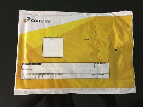 envelope plástico correios