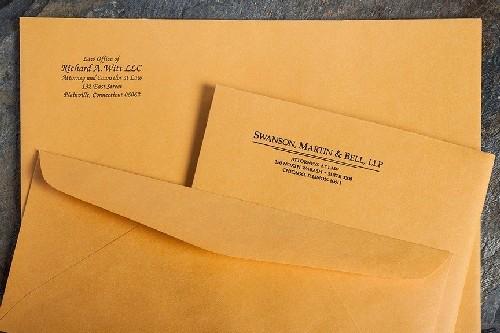 envelope remetente destinatário - Embalagem Ideal