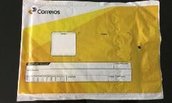 Envelope plástico bolha correios