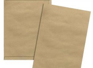 envelope papel kraft