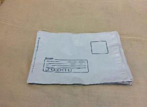 envelope remetente e destinatário